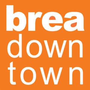 brea down town logo